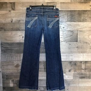 7 For All Mankind Dojo's Wide Leg Jeans